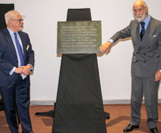 Statue unveiled at Brooklands