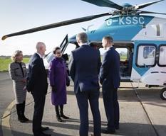 Princess Royal at Redhill Aerodrome