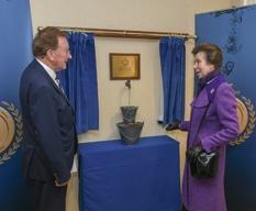 Princess Royal meets Chairman, Sir Adrian White