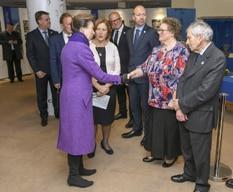 Princess Royal meets members of Biwater International