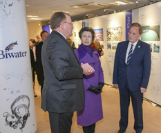 Princess Royal at Biwater International