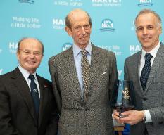 HRH The Duke of Kent presents the Queen's Award for Enterprise in Innovation