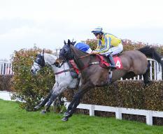 Horses racing at Sandown