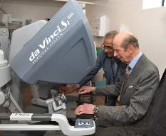 HRH The Duke of Kent at Stokes Centre for Urology