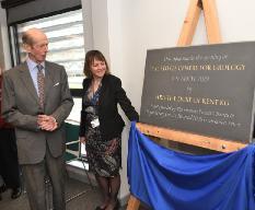 HRH The Duke of Kent opens the new Stokes Centre for Urology