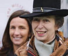 HRH The Princess Royal at Sandown